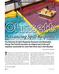 MN Oct-16#20 SPILL RESPONSE Advancing Spill Response The National Oil