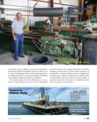 MN Nov-16#85 Process of machining a marine bushing  carries loads of up