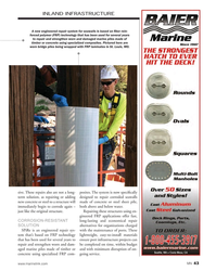 MN May-17#43 INLAND INFRASTRUCTURE A new engineered repair system for