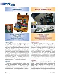 MN Aug-17#76 .OceanMedix.com CEO/President: Tim Price CEO/President: Denny