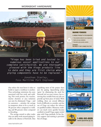 """MN Nov-17#79  have to be replaced."""" – Jonathan Stanley,  Foss Maritime"""