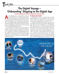 MN Nov-17#94 ech file T The Digital Voyage –  'Onboarding' Shipping to