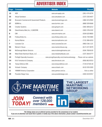 MN Dec-17#64 ADVERTISER INDEX Page Company     Website  Phone# 15