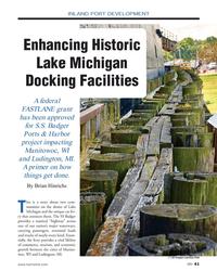 MN Feb-18#41  Historic  Lake Michigan  Docking Facilities A