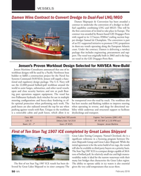 MN Feb-18#50 VESSELS Damen Wins Contract to Convert Dredge to Dual-Fuel