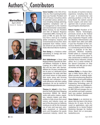 MN Apr-18#8 Authors   Contributors & Steve Candito is the CEO of Eco-
