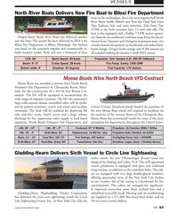 MN May-18#63  a Kohler 7.5 kW marine genera- Oregon-based North River Boats