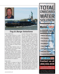 MN Aug-18#55 Partner:  Pat Folan Tug & Barge Solutions THE COMPANY: