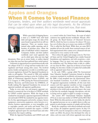 MN Sep-18#26 COLUMN FINANCE Apples and Oranges  When it Comes to Vessel