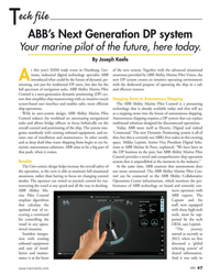 MN Oct-18#47 ech file T ABB's Next Generation DP system  Your marine pilot