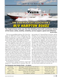 MN Oct-18#49 BOAT OF THE MONTH The Virginia Pilot Association's The