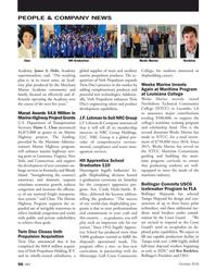 MN Oct-18#56  Graduation Bordelon Academy. James A. Helis, Academy  global