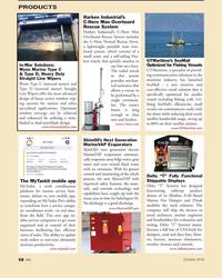 MN Oct-18#58 PRODUCTS Harken Industrial's  C-Hero Man Overboard  Rescue