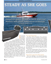 MN Nov-18#68  makes inroads in North American  markets with vessel