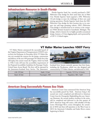 MN Nov-18#93 VESSELS Infrastructure Resource in South Florida Florida