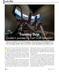 MN Dec-18#24 ech file T Training Day:  Cruden's pioneering Fast Craft