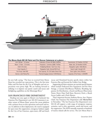 MN Dec-18#34 FIREBOATS The Moose Boats M2-38 Patrol and Fire Rescue