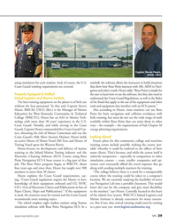 MN Jan-19#29 Captain Steven Hearn,  BMCM, USCG  using simulators for