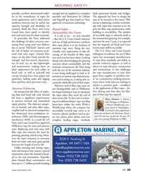 MN Feb-19#35 MOORING SAFETY provides excellent dimensional stabil-