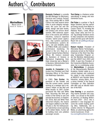 MN Mar-19#8 Authors   Contributors & Domenic Carlucci is currently