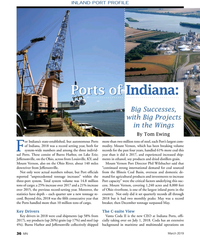 MN Mar-19#36  PROFILE Ports of Ports of Indiana:  Big Successes,  with