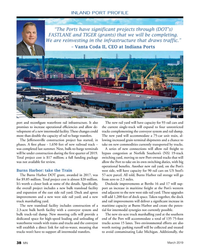 "MN Mar-19#38 .""  – Vanta Coda II, CEO at Indiana Ports port and reconfgure"