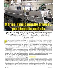 MN Mar-19#48 HYBRID PROPULSION Marine Hybrid quietly arrives … Marine