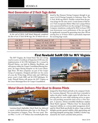 MN Mar-19#52  River for Cooper Consolidated. Metal Shark Delivers Pilot Boat