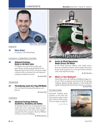 MN Apr-19#2  for this growing  ATB REVIEW California shipyard. Equally impressive