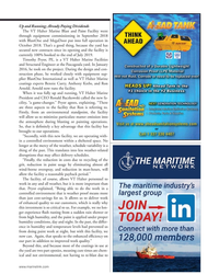 MN Apr-19#41  Marine  President and CEO Ronald Baczkowski called the