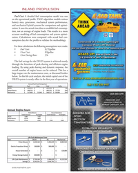 MN May-19#47 INLAND PROPULSION Fuel Cost: A detailed fuel consumption