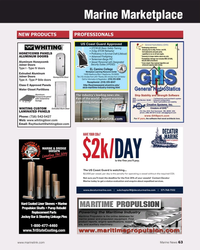 MN May-19#63 Marine Marketplace NEW PRODUCTS PROFESSIONALS HONEYCOMB