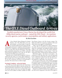 MN Jun-19#24 PROPULSION T  e OXE Diesel Outboard Arrives Credit: