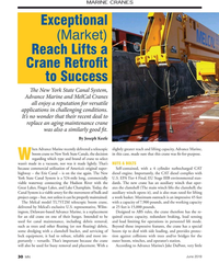 MN Jun-19#3rd Cover MARINE CRANES Exceptional  (Market)  Reach Lifts a  Crane