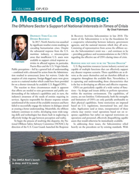 MN Jul-19#26 COLUMN OP/ED A Measured Response: The Offshore Sector's