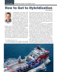 MN Jul-19#28 COLUMN PROPULSION TECHNOLOGY How to Get to Hybridization B