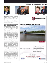 MN Jul-19#55  serves as co-chair of the  Congressional Maritime Caucus