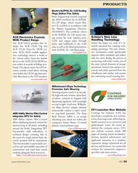 MN Jul-19#59  reduces a rope's recoil,  Coatings for Industry