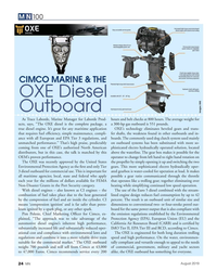MN Aug-19#24  inherent high performance,  California Air Resources Board