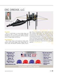 MN Aug-19#35 DSC DREDGE, LLC Bob Wetta,  President & CEO The Case: tion