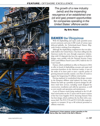MN Aug-19#57  States' offshore sector.  By Eric Haun DAMEN the Ubiquitous With