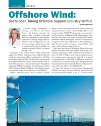 MN Sep-19#20 COLUMN OP/ED Offshore Wind: Set to Soar, Taking Offshore