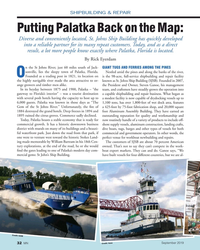 MN Sep-19#32  know exactly where Palatka, Florida is located. By Rick Eyerdam n