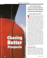 MN Sep-19#48 MARINE COATINGS As the offshore industry  recovers,