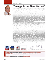 "MN Sep-19#6 EDITOR'S NOTE ""Change is the New Normal"" As I assembled"
