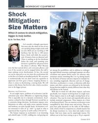MN Oct-19#22 COLUMN WORKBOAT EQUIPMENT Shock  Mitigation:  Size Matters W