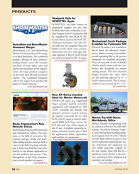 MN Oct-19#58 PRODUCTS Seaspans Opts for  SCHOTTEL Again       SCHOTTEL