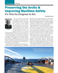 MN Nov-19#22  Maritime Safety It's Time for Congress to Act.   By Buddy Custard The