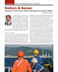 MN Nov-19#26  Management System (SMS).   By Richard J. Paine, Jr. Organizations