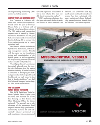 MN Nov-19#45 PROPULSION an integrated ship monitoring, LNG  laws and